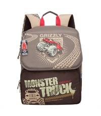 RA-671-2 Рюкзак школьный Grizzly коричневый