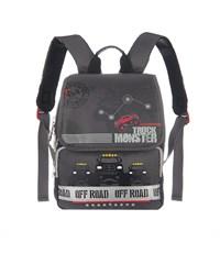 RA-671-4 Рюкзак школьный Grizzly серый