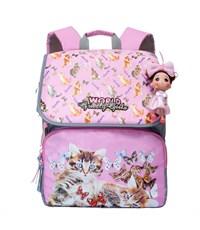 RA-672-2 Рюкзак школьный  (/1 розовый)