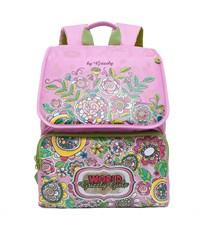 RA-672-4 Рюкзак школьный Grizzly розовый