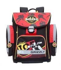 RA-675-3 Рюкзак Grizzly черный