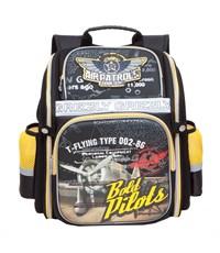 RA-677-4 Рюкзак школьный Grizzly коричневый
