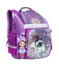 RA-678-4 Ранец школьный Grizzly фиолетовый