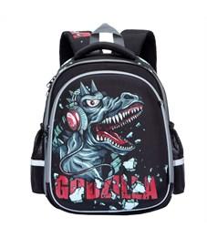 RA-778-7 Рюкзак школьный Grizzly черный