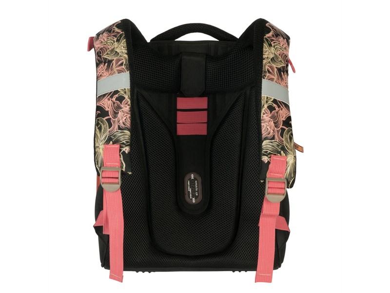 RA-779-1 Рюкзак Grizzly черный-розовый