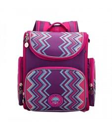 Рюкзак школьный Grizzly RA-871-6 с мешком (/1 фиолетовый)
