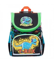 Рюкзак школьный Grizzly RA-872-4 с мешком (/1 черный)