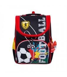 RA-872-9 Рюкзак школьный с мешком (/1 черный)