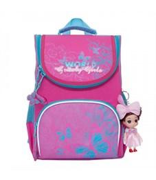Рюкзак школьный Grizzly RA-873-2 с мешком (/2 жимолость)