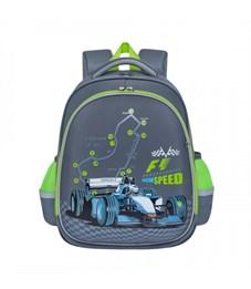 Рюкзак школьный Grizzly RA-878-3(/1 серый)