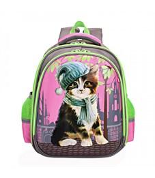 Рюкзак школьный Grizzly RA-879-2 (/1 серый)