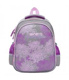 Рюкзак школьный Grizzly RA-879-4 (/2 светло-серый)