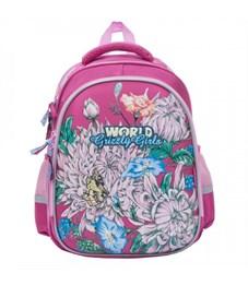 Рюкзак школьный Grizzly RA-879-5 (/2 фуксия)