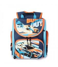 RA-970-3 Рюкзак школьный (/1 темно-синий - голубой)