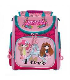 RA-971-2 Рюкзак школьный (/2 жимолость - розовый)