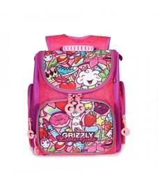 RA-971-5 Рюкзак школьный (/1 жимолость - фиолетовый)