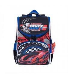 RA-972-1 Рюкзак школьный с мешком (/1 черный - красный)