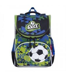 RA-972-2 Рюкзак школьный с мешком (/1 черный - синий)