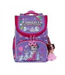 RA-973-1 Рюкзак школьный с мешком (/1 лаванда - жимолость)