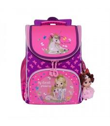 RA-973-2 Рюкзак школьный с мешком (/2 фиолетовый - жимолость)