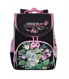RA-973-3 Рюкзак школьный с мешком (/1 черный)