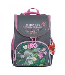 RA-973-3 Рюкзак школьный с мешком (/2 серый)