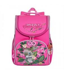 RA-973-3 Рюкзак школьный с мешком (/3 розовый)