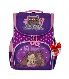 RA-973-4 Рюкзак школьный с мешком (/2 аметист - фиолетовый)