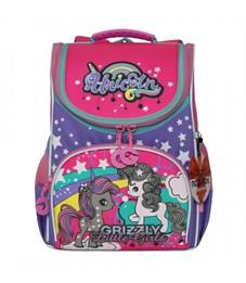 RA-973-5 Рюкзак школьный с мешком (/1 жимолость - лаванда)