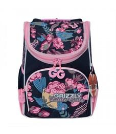 RA-973-6 Рюкзак школьный с мешком (/1 синий)
