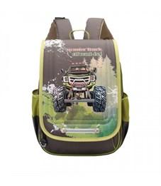 RA-976-1 Рюкзак школьный  (/1 хаки - бежевый)