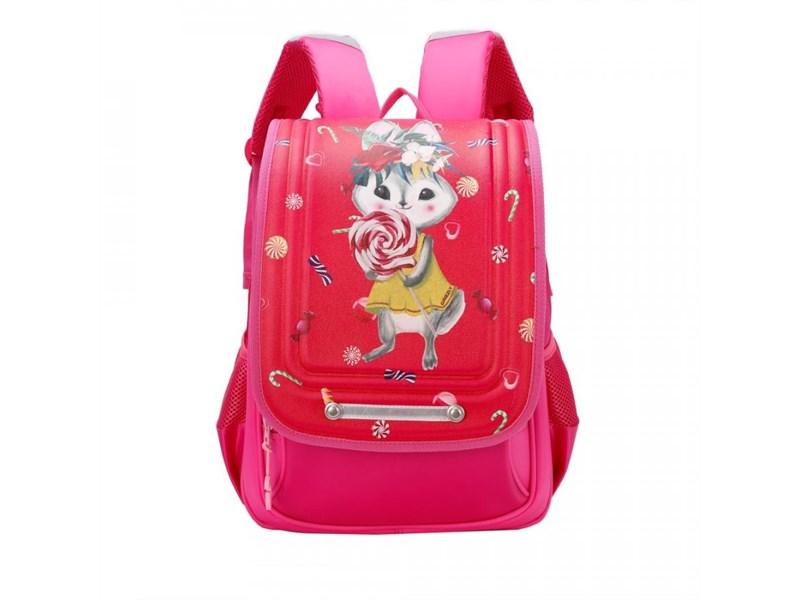 RA-977-1 Рюкзак школьный  (/1 фуксия)