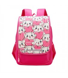 RA-977-3 Рюкзак школьный  (/1 фуксия)