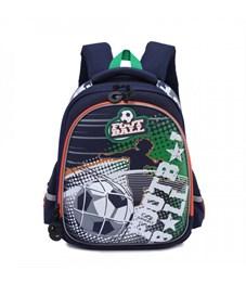 RA-978-1 Рюкзак школьный (/1 темно-синий- зеленый)