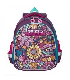 RA-979-8 Рюкзак школьный (/1 фиолетовый)