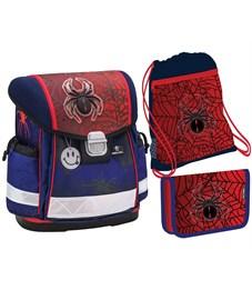 """Ранец школьный Belmil CLASSY """"Spiders"""" с наполнением"""