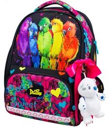 Ранец школьный DeLune 10-004 + мешок + пенал + мишка