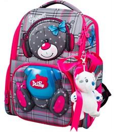 Ранец школьный DeLune 11-026 + мешок + мишка