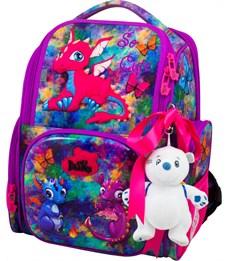 Ранец школьный DeLune 11-028 + мешок + мишка