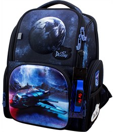 Ранец школьный DeLune 11-031 + мешок + часы