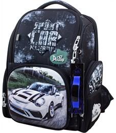 Ранец школьный DeLune 11-033 + мешок + часы