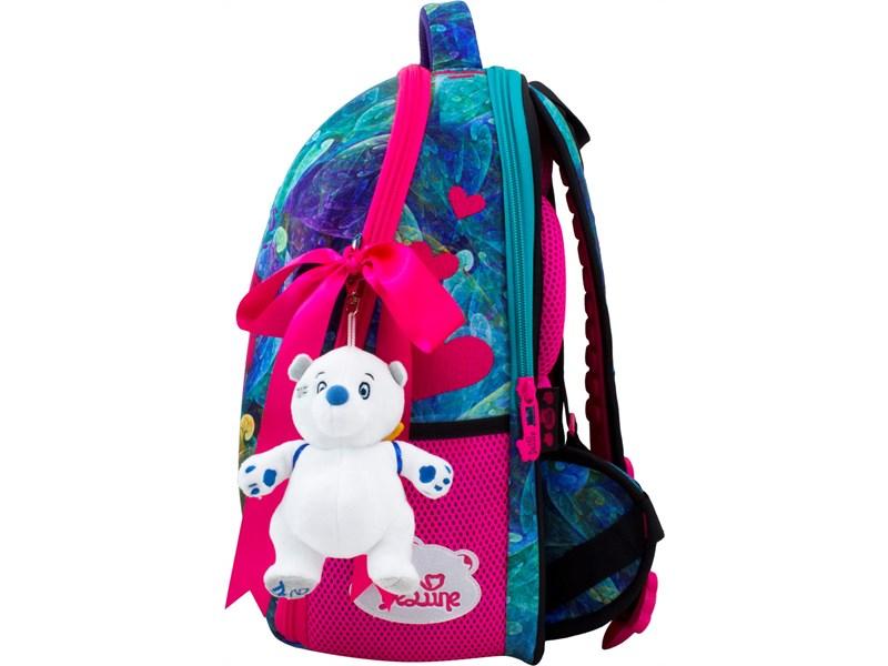 Ранец школьный DeLune 7-148 + мешок + мягкий пенал + мишка + ленточка