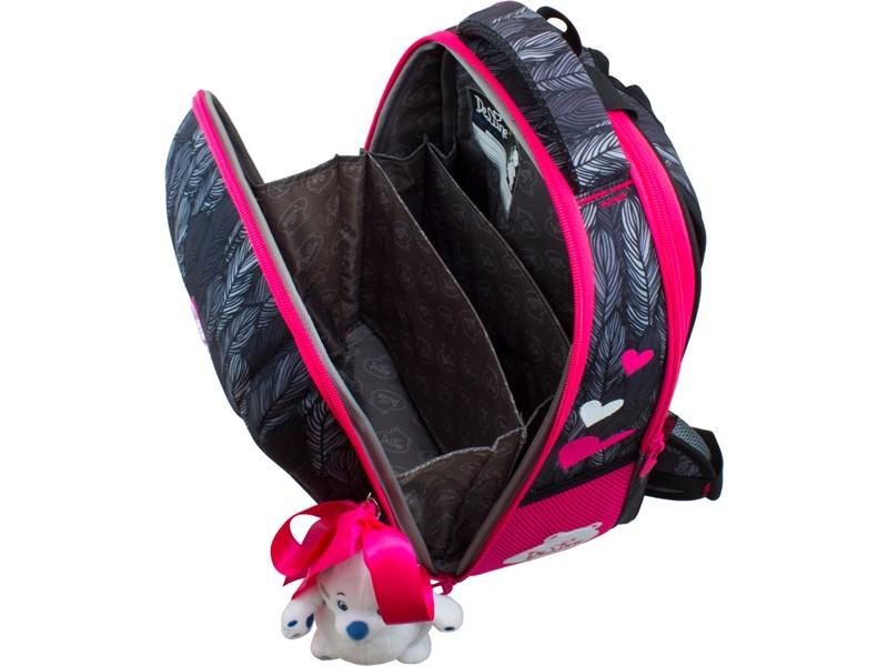 Ранец школьный DeLune 7-149 + мешок + мягкий пенал + мишка + ленточка