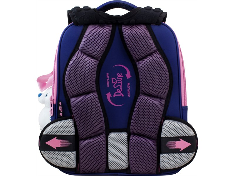 Ранец школьный DeLune 7-150 + мешок + мягкий пенал + мишка + ленточка