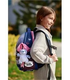 Фото 9. Ранец школьный DeLune 7-150 + мешок + мягкий пенал + мишка + ленточка