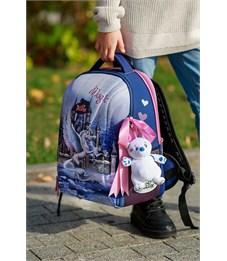 Фото 10. Ранец школьный DeLune 7-150 + мешок + мягкий пенал + мишка + ленточка