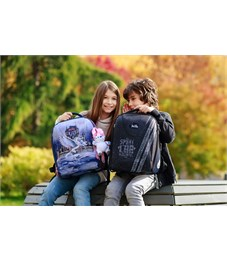 Фото 13. Ранец школьный DeLune 7-150 + мешок + мягкий пенал + мишка + ленточка