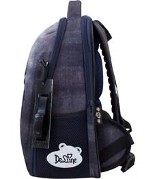 Фото 2. Ранец школьный DeLune 7-151 + мешок + мягкий пенал + часы