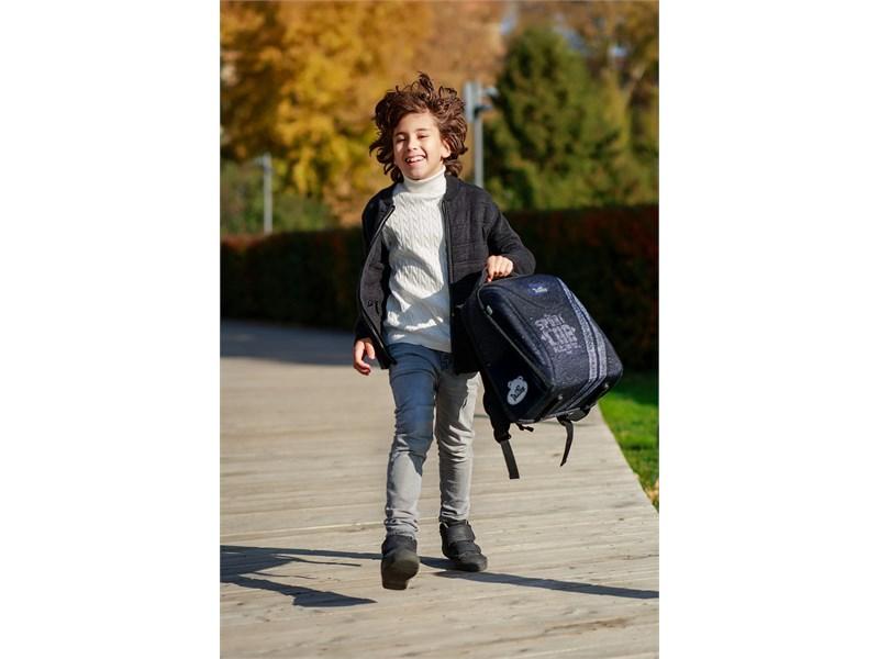 Ранец школьный DeLune 7-152 + мешок + мягкий пенал + часы
