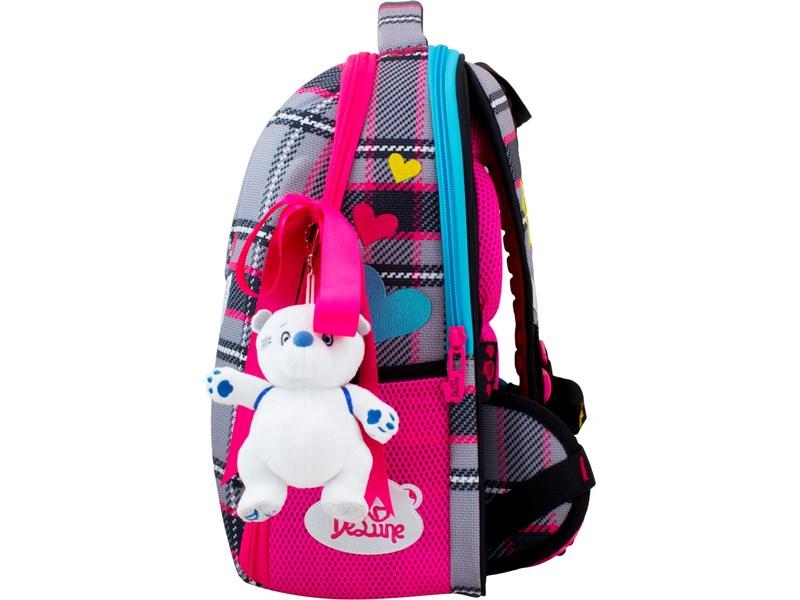 Ранец школьный DeLune 7-154 + мешок + мягкий пенал + мишка + ленточка